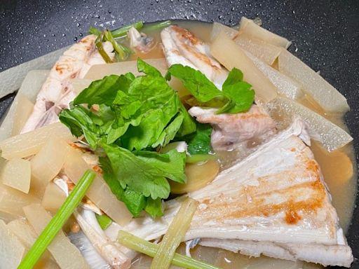 蘿蔔芹菜沙鯭煲
