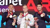 Video: Melnikova snaps U.S. all-around streak at 2021 Gymnastics Worlds