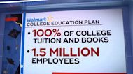 Walmart to pay 100% of college tuition for employees