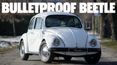 This Is Very Likely The Only Bulletproof VW Beetle For Sale Anywhere