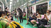 台中捷運全線列車駐留月台2分鐘 已恢復行駛