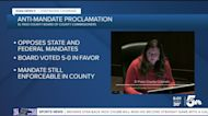 El Paso County issues proclamation against vaccine mandates