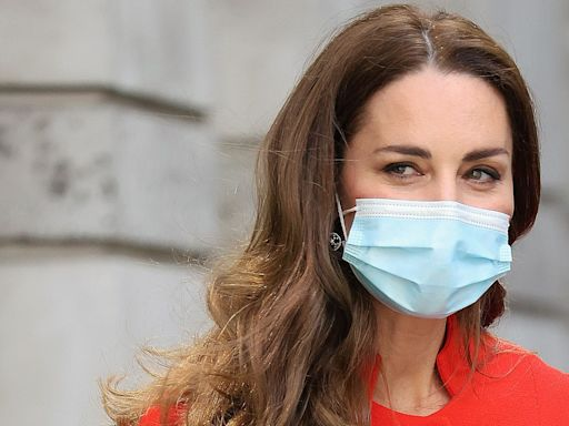 Kate Middleton Stuns in a Vibrant Red Coat Dress to Celebrate Her Book Release