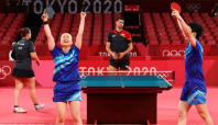 Olympics-Table Tennis-Tears of joy for Japan duo, nap time for Chinese, after wins