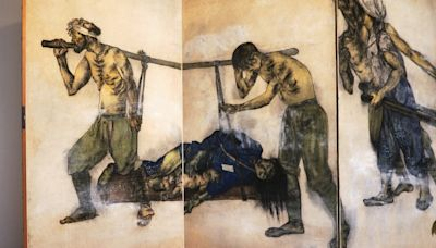 75 years after the Hiroshima bomb, a couple's art still devastates