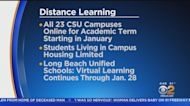 Distance Learning To Remain In Place Through January For CSU Campuses, Long Beach Schools
