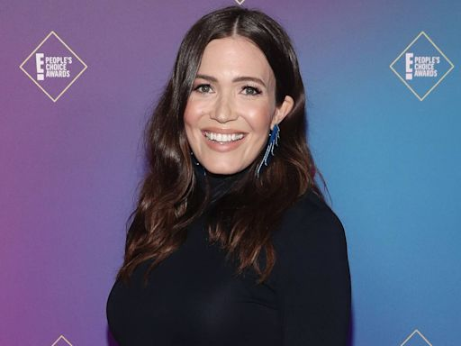 "Mandy Moore Shares Chic Maternity Portrait as Due Date Is ""Almost"" Here"