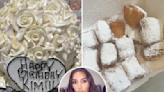 Kim indulges in cake, Krispy Kreme donuts and beignets on 41st birthday