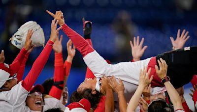 Japan beats US 2-0, turns incredible DP to win softball gold