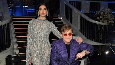 Elton John rockets to top 40 for the first time in 22 years with Dua Lipa