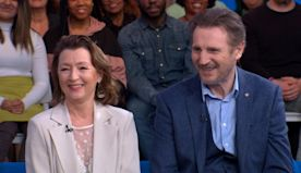Video: 'Ordinary Love' stars Lesley Manville and Liam Neeson in a very different role