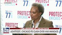 Mayor Lori Lightfoot, Chicago police union spar over vaccine mandate