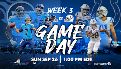 Colts vs. Titans: How to watch, listen and stream online in Week 3
