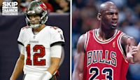 Shannon Sharpe on Tom Brady and Michael Jordan: What TB12 accomplished is harder to do than what MJ had to do I UNDISPUTED