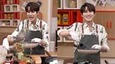 SJ曺圭賢在《宅家做飯live》煎餅翻面失敗,但...不忘表情管理!網友:「還是去鏟Pizza吧」
