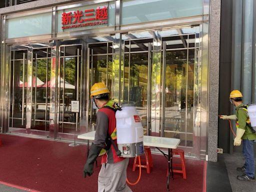 百貨櫃姊染疫擴大千人檢驗陰性 新光三越中港店明正常營業