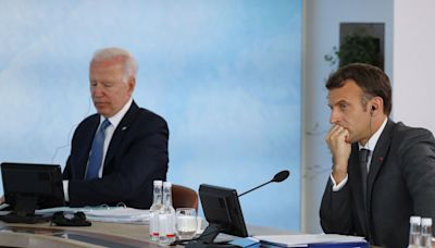 France recalls ambassador from Washington 'without delay' as Macron rages at Biden