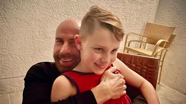 John Travolta Wishes Ben a Happy 10th Birthday with Sweet Father-Son Photo: 'I Love You!'