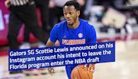 Gators shooting guard Scottie Lewis leaving Florida for the NBA draft