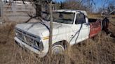 1974 Ford F-100 Truck Found Abandoned in a Field