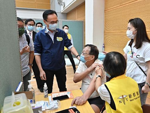 葵青區長者接種疫苗可獲200元超市禮券 九旬糖尿病患者稱不知打了哪款針
