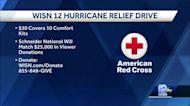 WISN 12 Hurricane Relief Drive to provide supplies to Louisiana, Northeast