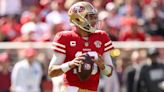 Jimmy Garoppolo practices on Monday, Trey Lance doesn't