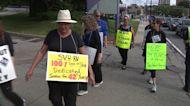 Worcester's St. Vincent Hospital nurses mark 100 days on strike