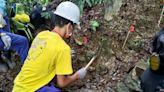 手作步道就地取材 新竹林管處內洞辦理教學