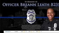 Honoring the life of IMPD Officer Breann Leath one year after shooting death