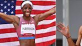 Olympians Keni Harrison and Jenna Prandini Were BFF Goals in Tokyo - This TikTok Proves It
