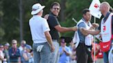 What started out as fun and games turned into Phil Mickelson leading the Wells Fargo