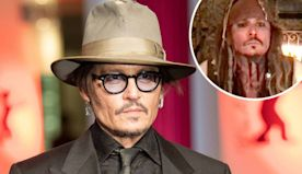Johnny Depp Dresses Up as Captain Jack Sparrow for Virtual Visit to Children's Hospital - E! Online