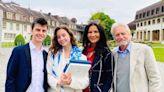 Michael Douglas and Catherine Zeta-Jones Celebrate Daughter Carys' Graduation: We're 'So Proud'