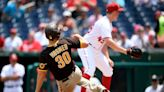 Pads beat Nats 10-4, complete game suspended after shooting