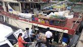 食環署打擊屯門避風塘及青山灣海濱長廊非法販賣海產活動