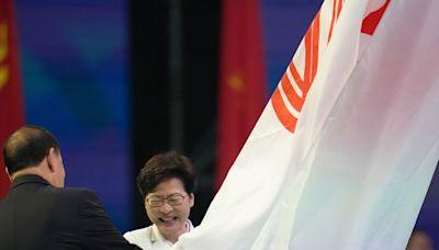 林鄭月娥稱將按中央辦賽要求做好籌備全運會工作 - RTHK
