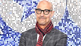 Stanley Tucci, 59, Looks Hunky & Makes The Internet Swoon In Thirst Trap Bartending Video