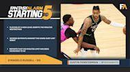 NBA DFS Starting Five: April 21