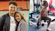Patrick Mahomes' Fiancée Brittany Matthews Shows Off Fitness Routine 2 Months After Giving Birth