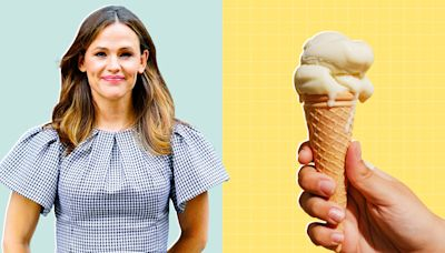 Jennifer Garner Made Homemade Ice Cream—and You Can Too with Her Cute Old-School Tool