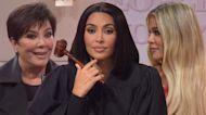 Kim Kardashian Plays Sister Kourtney and Jokes About Kanye West in 'SNL' Debut