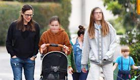 Jennifer Garner's Daughter Violet, 14, Is Now Taller Than Jennifer On Family Walk With Pets — Pic