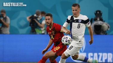 【歐國盃】比利時輕鬆攞「芬」 丹麥大勝神奇出線 | 體育
