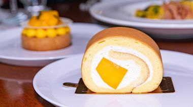 來歐華酒店不吃牛排,改吃芒果蛋糕捲!