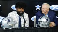 If the Cowboys get a top 3 pick, should they draft a QB, cut Zeke and start over?