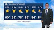 Metro Detroit Forecast: Cool start to a hot weekend