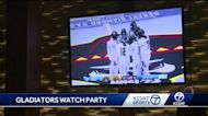 Duke City Gladiators hold watch party for fans