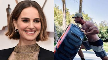 Natalie Portman reacts to 'Thor 4' costar Chris Hemsworth's ripped Instagram photo: 'It's otherworldly'
