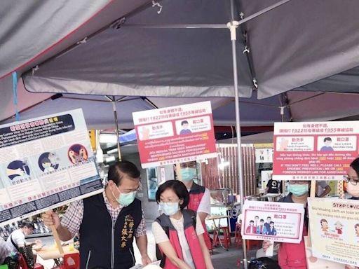 台中+2 龍井男與移工女友曾到台北 有症狀後又到東協廣場